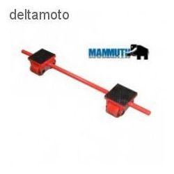 Rolki transportowe 4 tony podwójne marki Mammuth