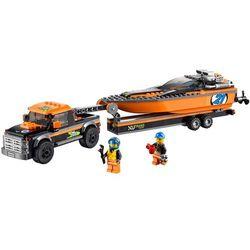 Lego City TERENÓWKA Z MOTORÓWKĄ 60085, klocki do zabawy