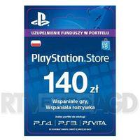 Sony PlayStation Network 140 zł [kod aktywacyjny]