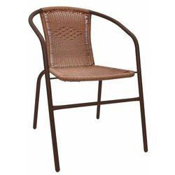 Krzesło BISTRO brązowe