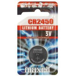 bateria litowa Maxell CR2450 - blister 1szt, kup u jednego z partnerów