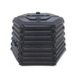 Ekobat Ekokompostownik termo xl-1400 czarny darmowy transport