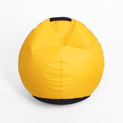 Puf Mignon żółty, kolor żółty