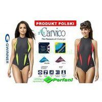 Gwinner Aqua sport klasyczny strój kąpielowy pływacki 2 kolory  + czepek | wysyłka 24h