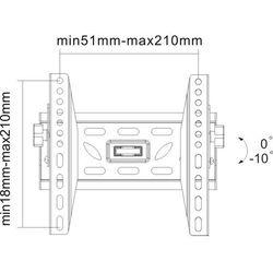Newstar LED-W220 ścienny uchwyt do telewizora - oferta (2561622ef5b5e36b)