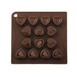 Silikonowa forma do czekoladek, pralinek, lodu, masła - serca marki Pavonidea