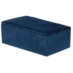 Organizer biżuterii Velvet Intesi niebieski - niebieski (8719987215315)