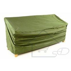 Pokrowiec na ławkę ogrodową 180 x 62 x 90 cm