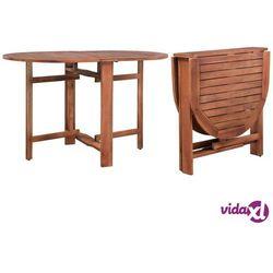 vidaXL Stół ogrodowy, 120x70x74 cm, lite drewno akacjowe (8718475614081)