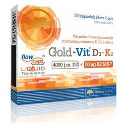 Olimp Gold+Vit D3 4000IU + K2 50ug 30 kaps., postać leku: kapsułki