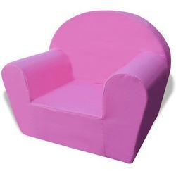 fotelik dziecięcy różowy marki Vidaxl