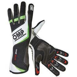 Rękawice OMP ONE EVO - Czarno / Biało / Zielony - sprawdź w wybranym sklepie