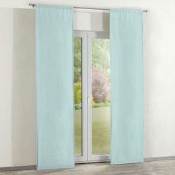 Dekoria zasłony panelowe 2 szt., pastelowy błękit, 60 × 260 cm, cotton panama