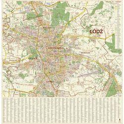 Mapa ścienna Łódź 1:20 000 - produkt z kategorii- mapy