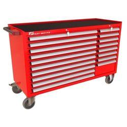 Wózek warsztatowy MEGA z 18 szufladami PM-210-16 (5904054407677)