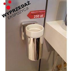 puravida 41504000 kubek ceramiczny do mycia zębów marki Hansgrohe