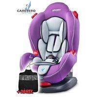 Caretero Fotelik samochodowy  sport classic purple 2016