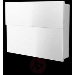 Prosta skrzynka na listy LETTERMAN XXL II, biała (4250208609444)