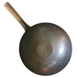Wok ręcznie kuty z płaskim dnem 35,5cm 14