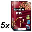 Versele - Laga NutriBird P15 Tropical dla dużych papug, 5 x 1kg ze sklepu Mall.pl