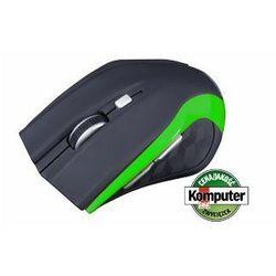 Mysz MODECOM Black-Green M-MC-0WM5-180/ DARMOWY TRANSPORT DLA ZAMÓWIEŃ OD 99 zł