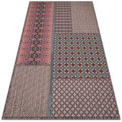 Nowoczesny dywan na balkon wzór Nowoczesny dywan na balkon wzór Aztecki deseń