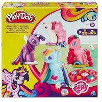 Play doh stylowe kucyki my little pony b0009 wyprodukowany przez Hasbro