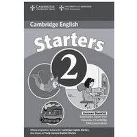Cambridge Young Learners English Tests Second Edition Starters 2 Answer Booklet