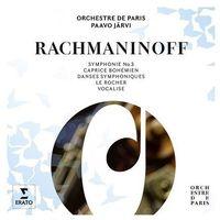 Rachmaninov: Symphony No 3 / Symphonic Dances, Vocalise (CD) - Orchestre De Paris