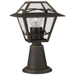 Massive lampa stojąca babylon brąz/czarny ze złotym nalotem 1 x 60w 230v (5413987120534)