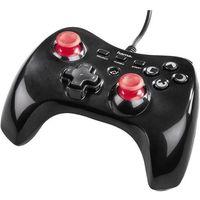 Gamepad PlayStation® 3 Hama Vendetta 00115436, USB, Rodzaj transmisji danych: Przewodowa, czerwony/czarny