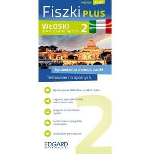 Fiszki Plus. Włoski dla początkujących 2 (9788377884348)