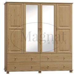 Szafa sosnowa 4d nr4 s180 marki Magnat - producent mebli drewnianych i materacy