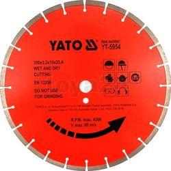 Tarcza diamentowa do betonu 450x25.4 mm / YT-5956 / YATO - ZYSKAJ RABAT 30 ZŁ