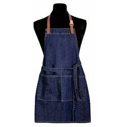 Fartuch kuchenny dla dzieci Jeans ciemnoniebieski, 50 x 70 cm