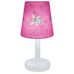 Fee - lampka nocna biały/różowy wys.30cm marki Trousselier
