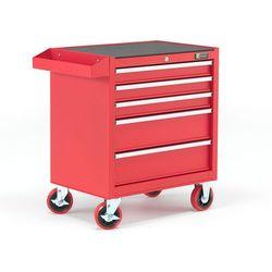 Wózek narzędziowy, 5 szuflad, 805x680x460 mm