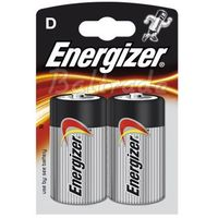 2 x bateria alkaliczna Energizer Power Seal LR20/D (blister)