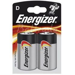 2 x bateria alkaliczna Energizer Power Seal LR20/D (blister) z kategorii Baterie