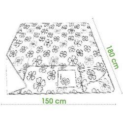 Spokey PICNIC FLOWERS - Koc piknikowy; 150x180 cm z kategorii Pozostałe sport i hobby