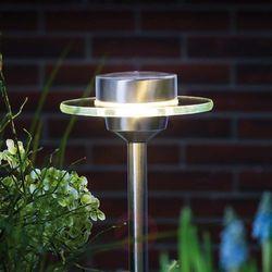 Solarna lampa, stojąca Paulmann 93764, 1x0.2 W, LED wbudowany na stałe, 3000 K, IP44, (ØxW) 15 cmx55 cm