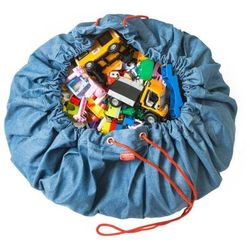 Worek i mata na zabawki Play & Go - Jeans p&g_jeans (5425038799712)