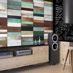 Fototapeta - drewniany układ marki Artgeist