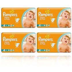 Pampers  sleep&play pieluszki 4 7-14 200szt