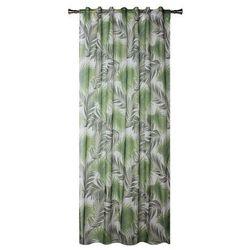 Firana Palmas 140 x 245 cm zielona (5908262421975)