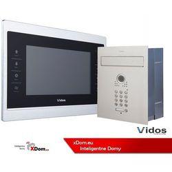 Zestaw jednorodzinny wideodomofonu . skrzynka na listy z wideodomofonem. monitor 7'' s561d-skp_m901s marki Vidos