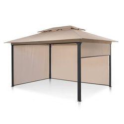 grandezza cortina, pawilon ogrodowy, 3x4m, 4 panele boczne, beżowy marki Blumfeldt