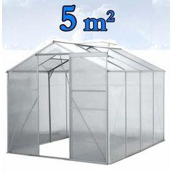 Szklarnia Ogrodowa Aluminiowa 5m² - sprawdź w wybranym sklepie