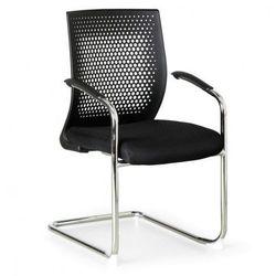 B2b partner Krzesło konferencyjne amenities, czarne