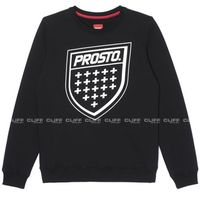 BLUZA PROSTO SHIELD BLACK, kolor czarny